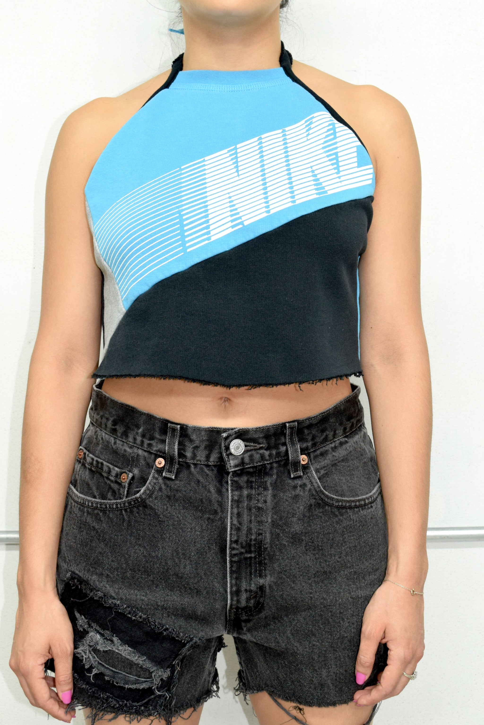Reworked Nike Halter Top- Small