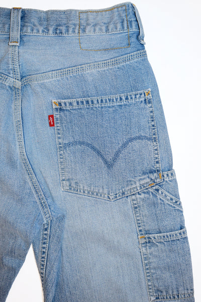 Reworked Levi S Carpenter Jeans For Women Waist Sz 29