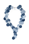Denim Dot Necklace #2