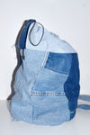 Denim purse, patchwork denim purse