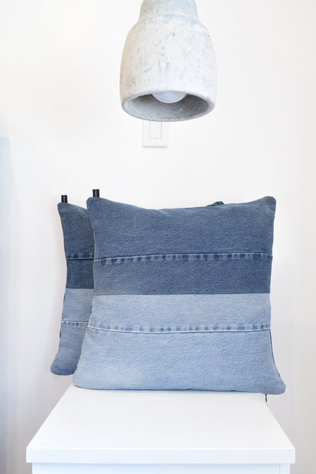 Denim Pillow Cover