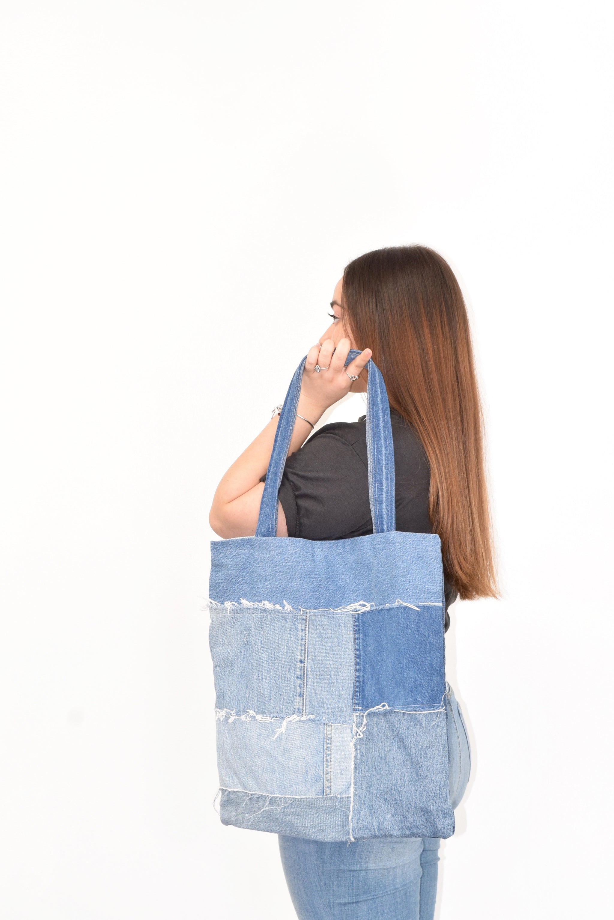 Reworked Denim Tote