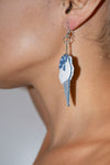 Ice Cream Denim Earrings