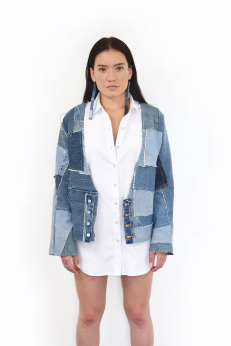 Denim Jacket Button Up