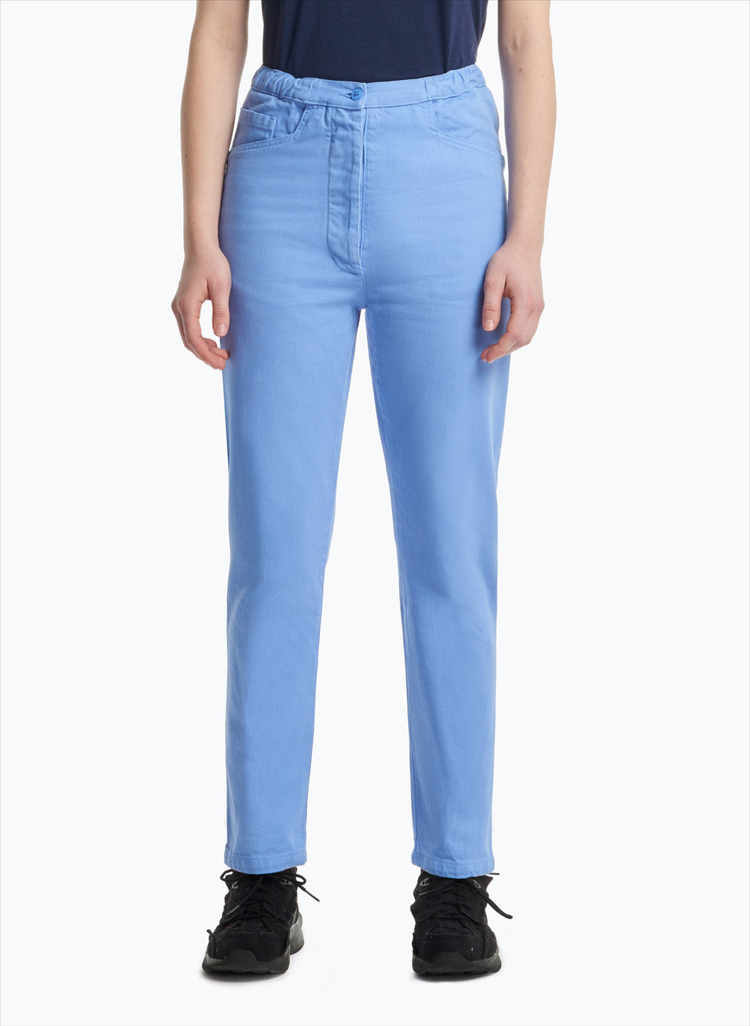 5-Pocket Pants in Light Blue Denim
