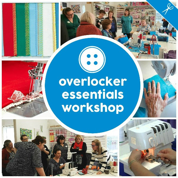 Adults - Overlocker Essentials Workshop