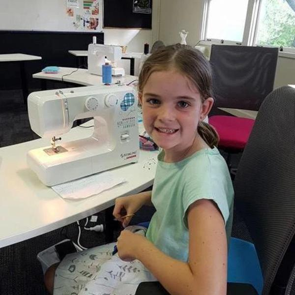 Kids Can Sew - Step 2