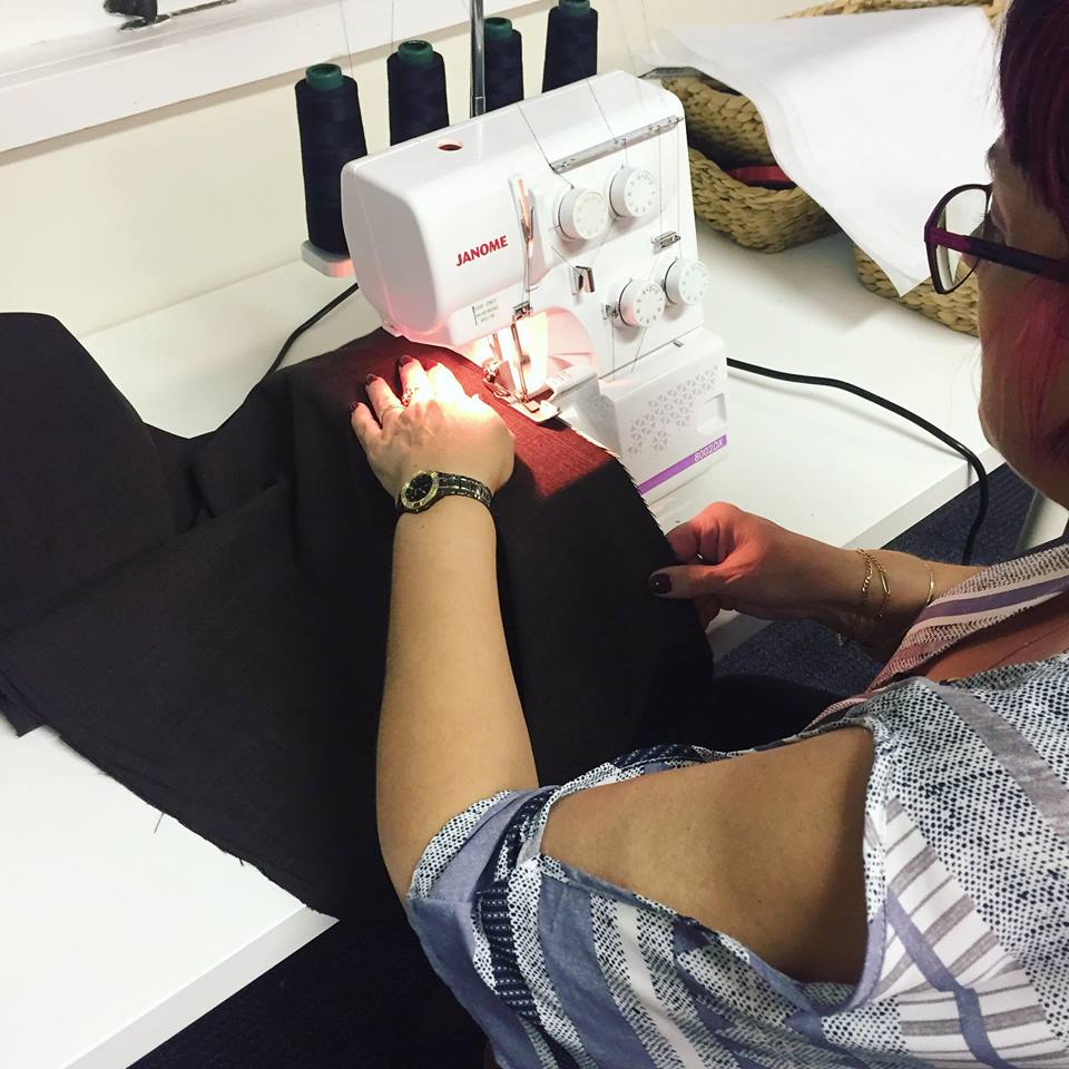 Overlocker Basics Class - Adult Courses - SewingAdventures - SewingAdventures - sewing brisbane -brisbane sewing school - brisbane sewing studio -learn to sew brisbane - kids sewing - teen sewing - adult sewing