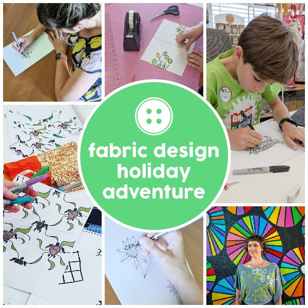 Adventure - Fabric Design