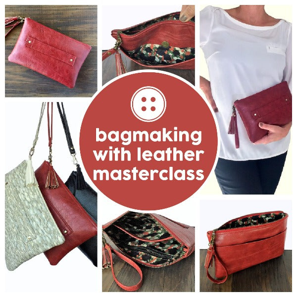 Project - Bagmaking With Leather