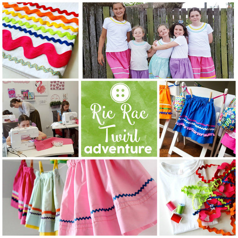 Ric Rac Twirl Sewing Adventure
