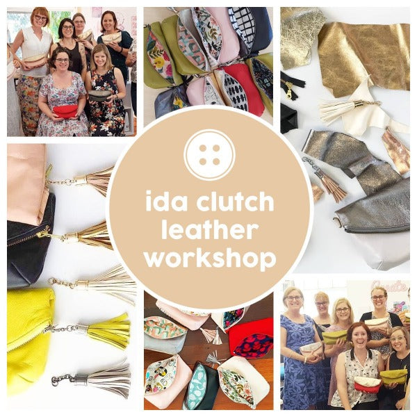 Project - Ida Leather Clutch