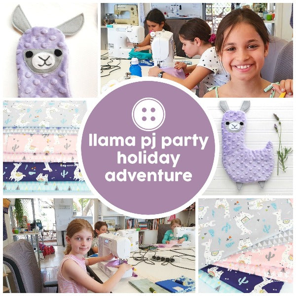 Adventure - Llama PJ Party