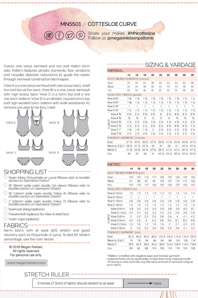 Masterclass - Ladies Swimwear With Katie