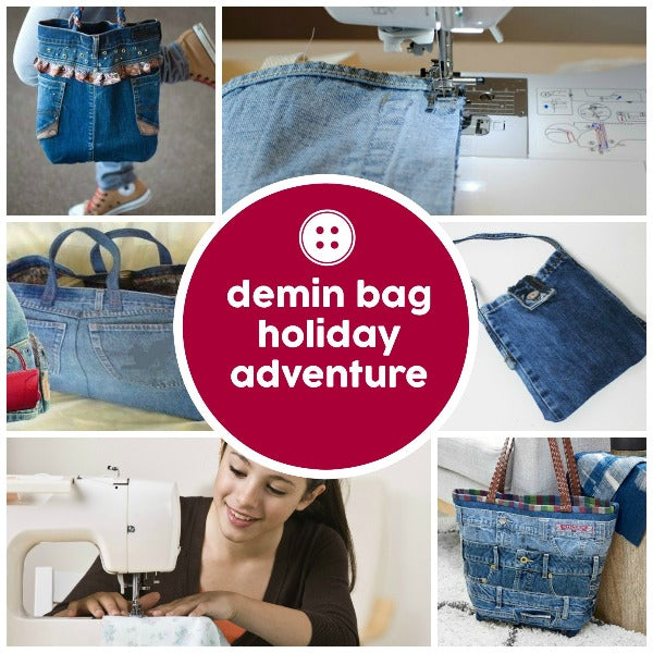 Adventure - Denim Remake - Kids - SewingAdventures - SewingAdventures - sewing brisbane -brisbane sewing school - brisbane sewing studio -learn to sew brisbane - kids sewing - teen sewing - adult sewing