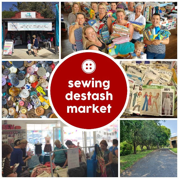 Events - Brisbane Sewing Destash Market -  - SewingAdventures - SewingAdventures - sewing brisbane -brisbane sewing school - brisbane sewing studio -learn to sew brisbane - kids sewing - teen sewing - adult sewing
