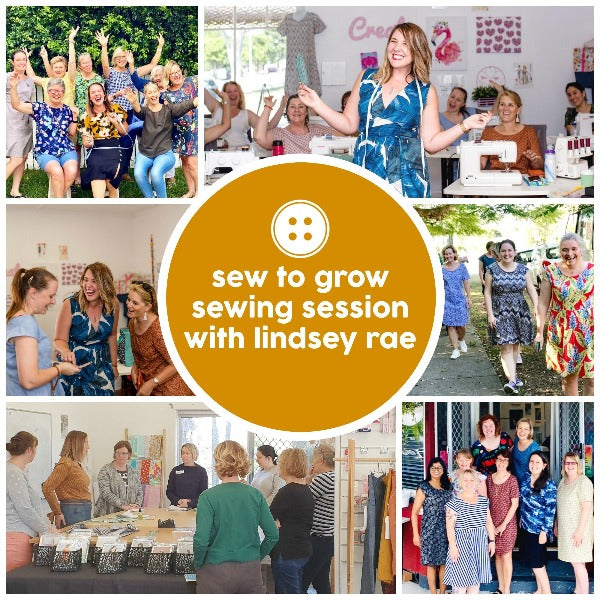 Masterclass - Sew To Grow Session