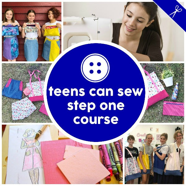 Youth - Teens Can Sew Step One
