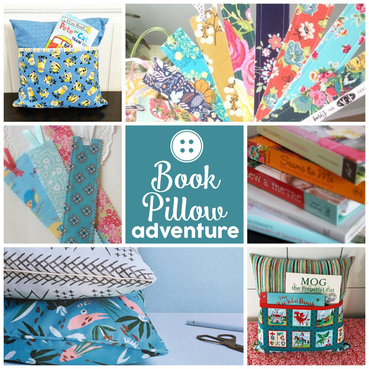 Book Pillow Sewing Adventure