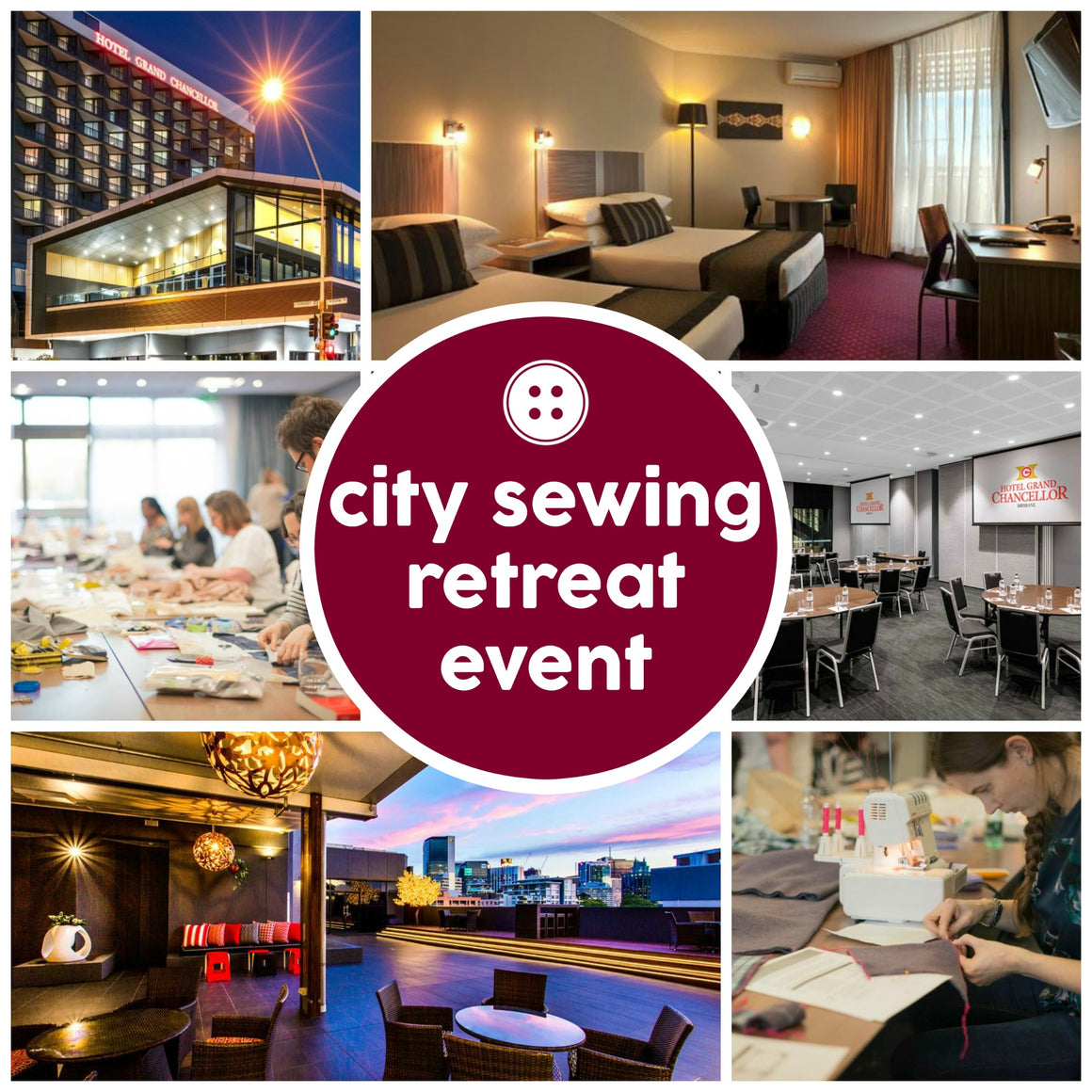 Events - City Sewing Retreat -  - SewingAdventures - SewingAdventures - sewing brisbane -brisbane sewing school - brisbane sewing studio -learn to sew brisbane - kids sewing - teen sewing - adult sewing