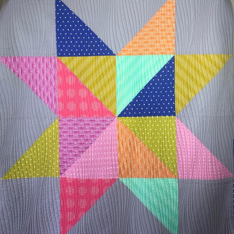 Quilting - Star Block Quilt
