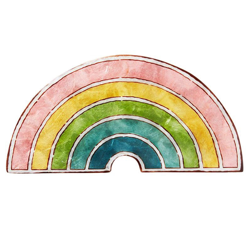 Jones & Co 'RAINBOW' Wall Art