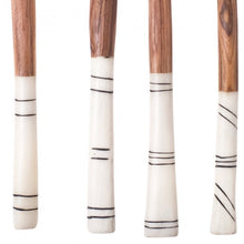 WOOD & BONE SALAD SERVERS