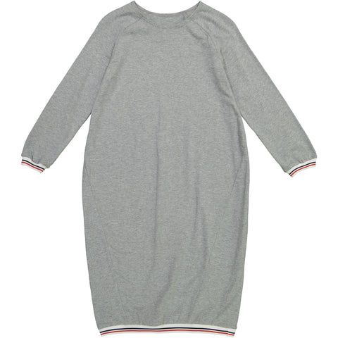 Athletic Trim Dress Heather Gray