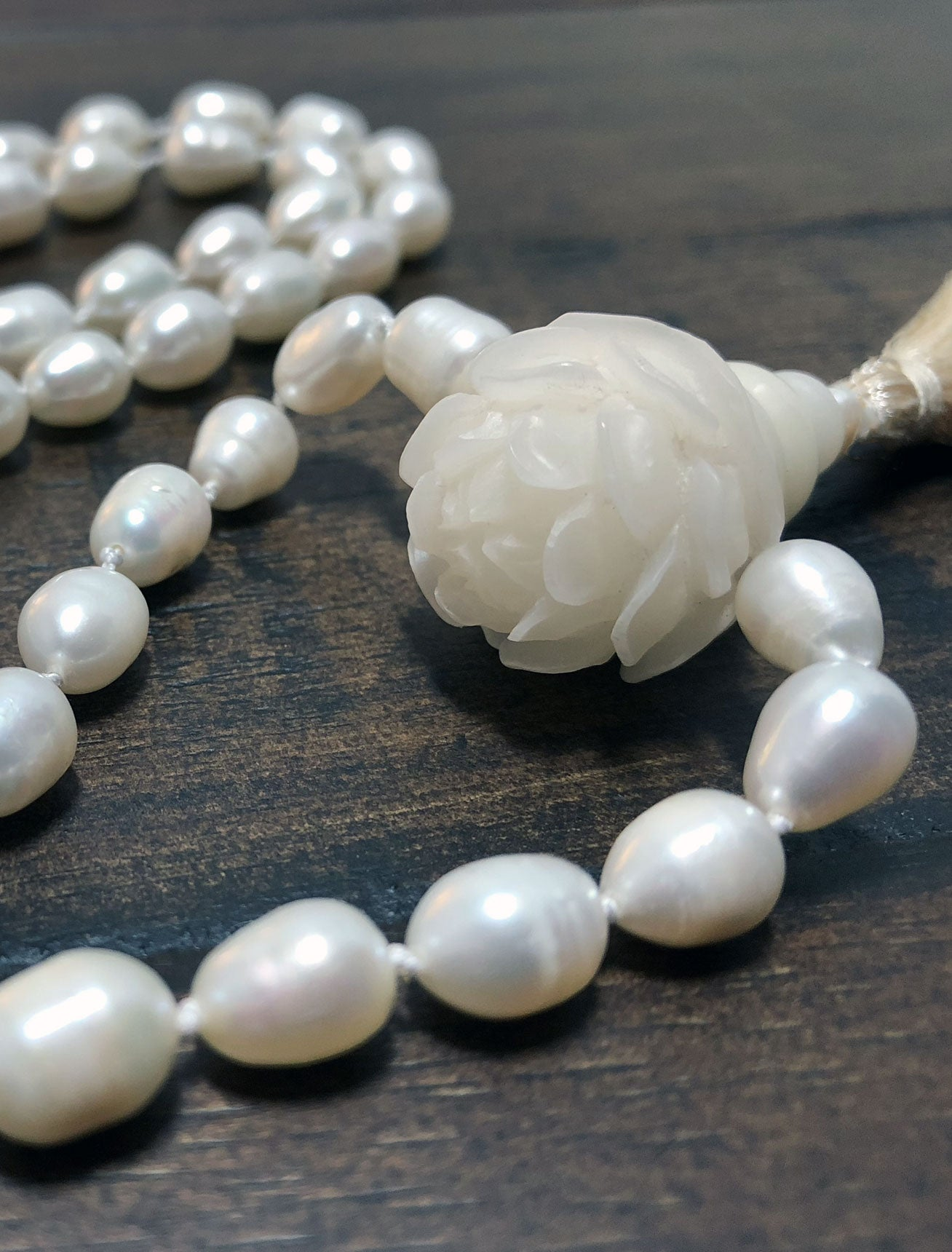 livemaster white natural pearls online on my jewelry shop set item baroque jewellery sets handmade pearl stones with