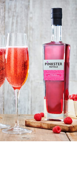 Valentine Case inc Romeo (Prosecco) and Pinkster Royale