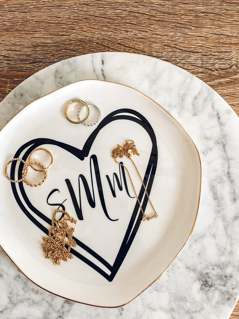 Personalized Jewelry Dish