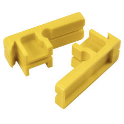 Tenite Line Blocks (Pair) (Packed in a Bag)