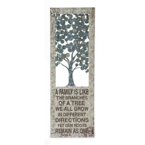 Cuadro de Arbol para Pared 30 X 91.5 cms - Eugenia's Gifts Accents