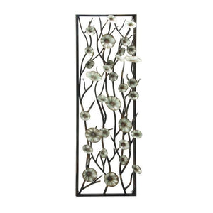 Panel de Pared de Ramas y Flores 61 X 1.83 Mts Vertical - Eugenia's Gifts Accents
