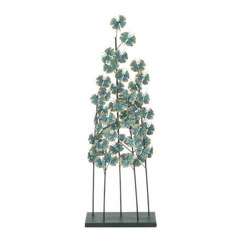 Escultura Floeres Metal 33 cm x 94 cm - Eugenia's Gifts Accents