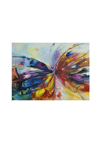 CUADRO COLOR BUTTERFLY 150 cm x 110 cm x 05 cm - Eugenia's Gifts Accents