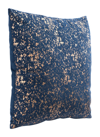 Cojin Night Pillow Blue & Gold - Eugenia's Gifts Accents