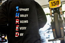 "Load image into Gallery viewer, ""Support Harley Racing"" HOODIE"