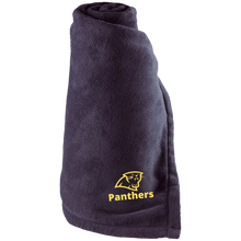 Load image into Gallery viewer, Panthers Large Fleece Blanket