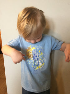 Yellow Horse Kids T-Shirt - Multiple Colors Available
