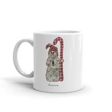 Load image into Gallery viewer, Snowman Mug
