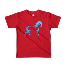 Load image into Gallery viewer, Blue Pony Toddler / Kids T-Shirt - Red