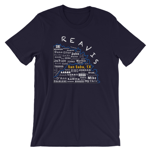 Reavis Short-Sleeve Unisex T-Shirt