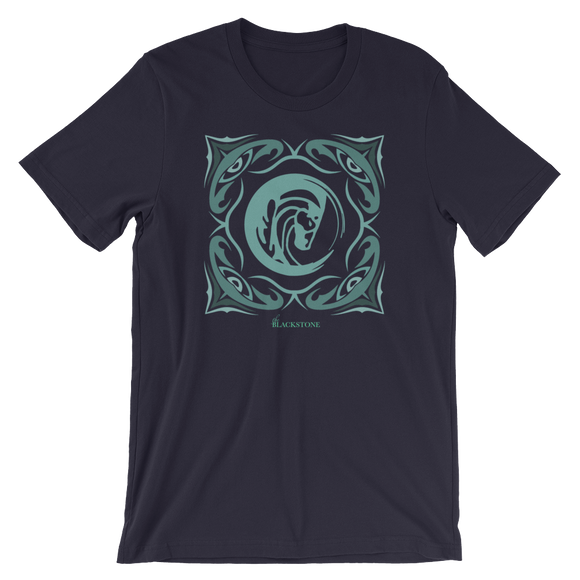 Sage Bandana Short-Sleeve T-Shirt - Navy