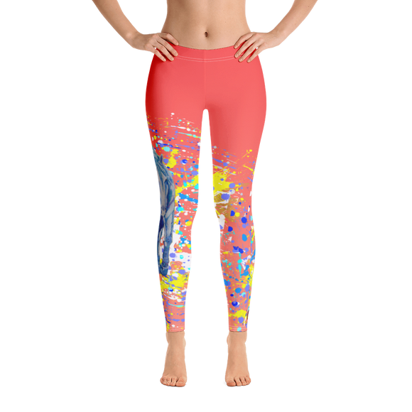 Yellow Horse Adult Leggings