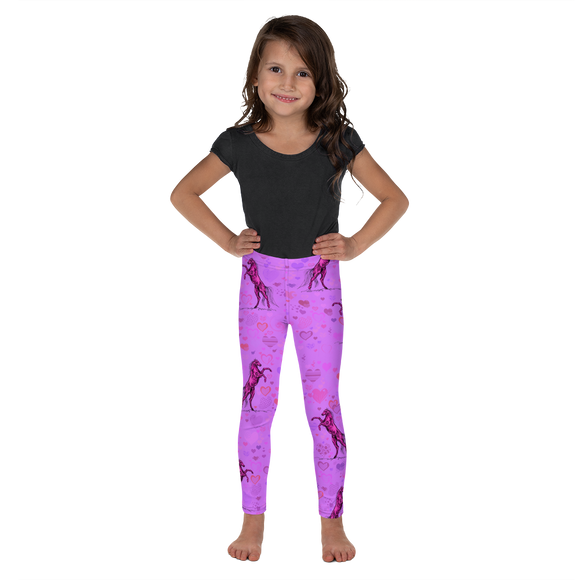Heart Of A Stallion Kid's Leggings