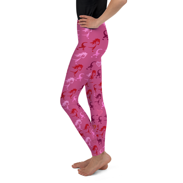 Pony Youth Leggings