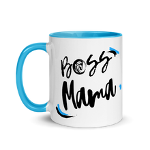 Load image into Gallery viewer, Boss Mama Mug with Color Inside