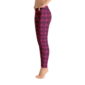 Heart Of Horses Adult Leggings
