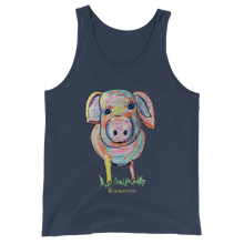 Load image into Gallery viewer, Piggy Unisex  Tank Top